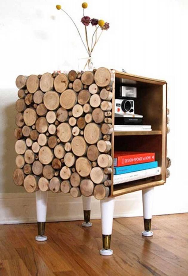 Wood Upcycled Storage
