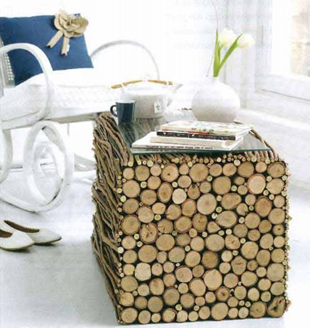 Wood Upcycled Tables