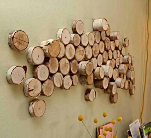 Wood Upcycled Wall Decor