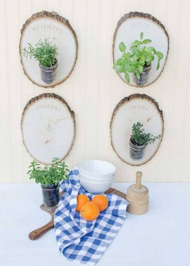 Wood Upcycled Wall Decoration