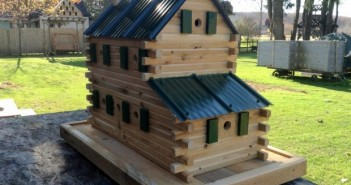 Wooden Birdhouse Creations