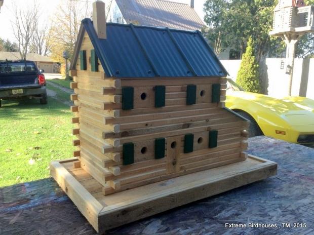 Wooden Made Birdhouse
