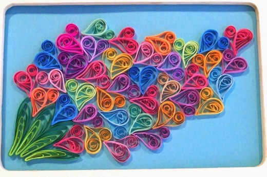 quilling art ideas upcycle art