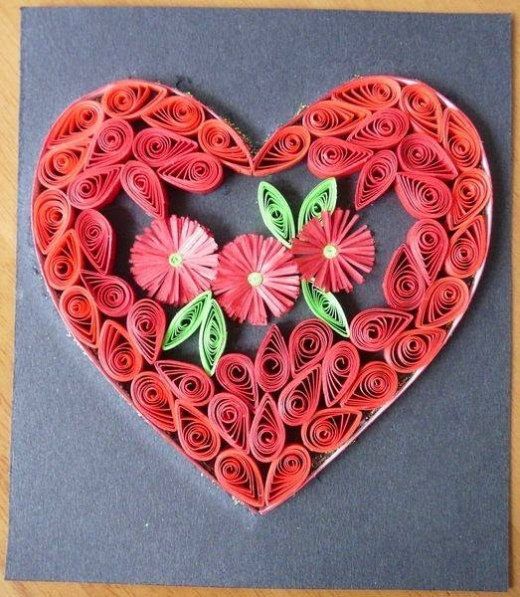 quilling ideas for cards