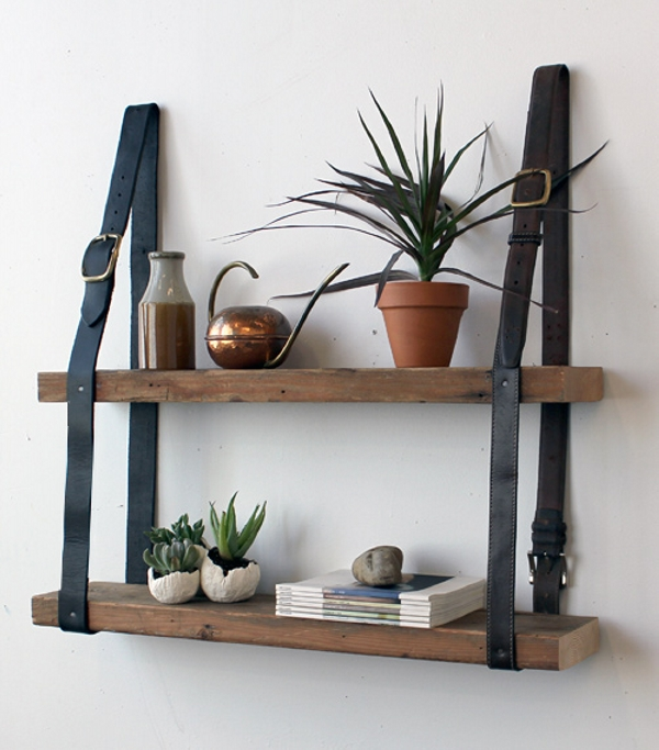 Belt Shelf Ideas