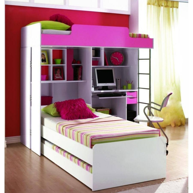 Bunk bed designs for kids room upcycle art Futon for kids room