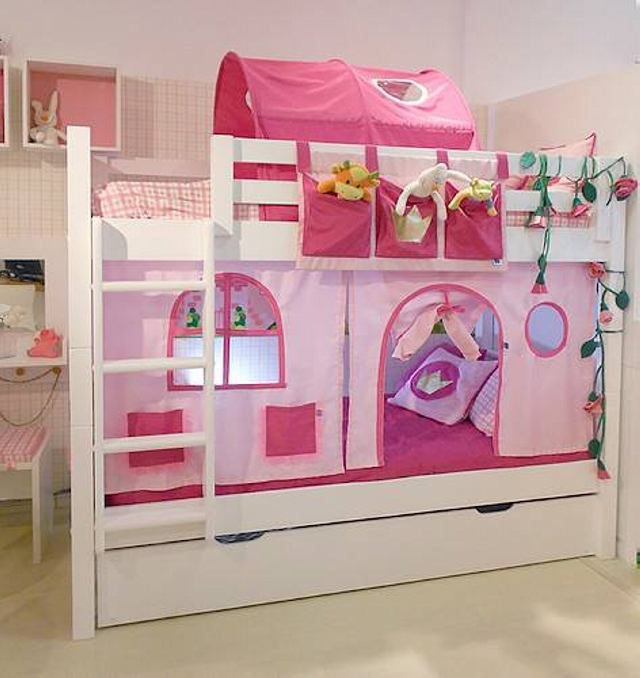 Bunk Bed Plans for Kids Room