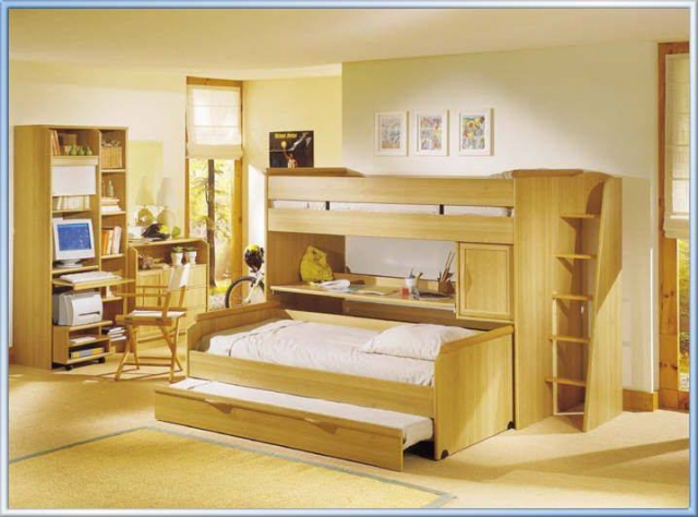 Bunk Bed Projects for Kids