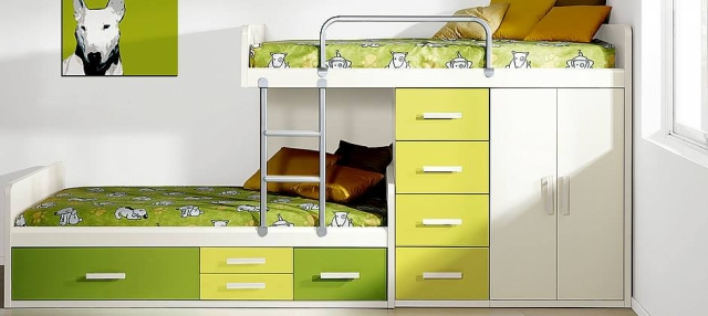 Cool Bunk Bed Designs for Kids Room