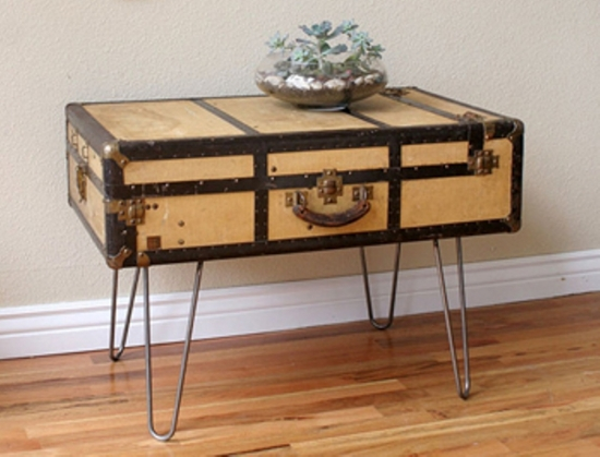 Bon Cute Suitcase Side Table