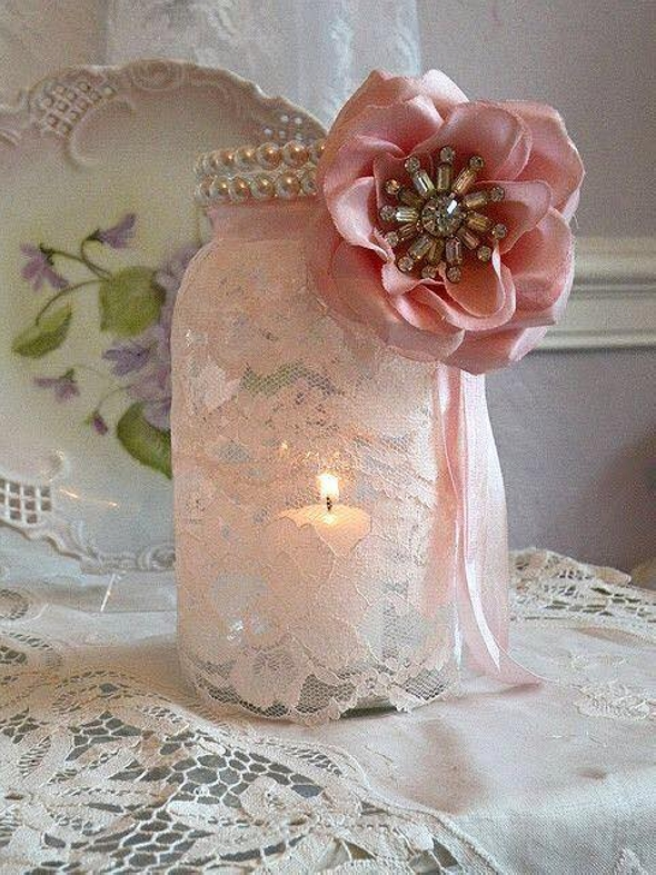 Glass Jar Decor Craft