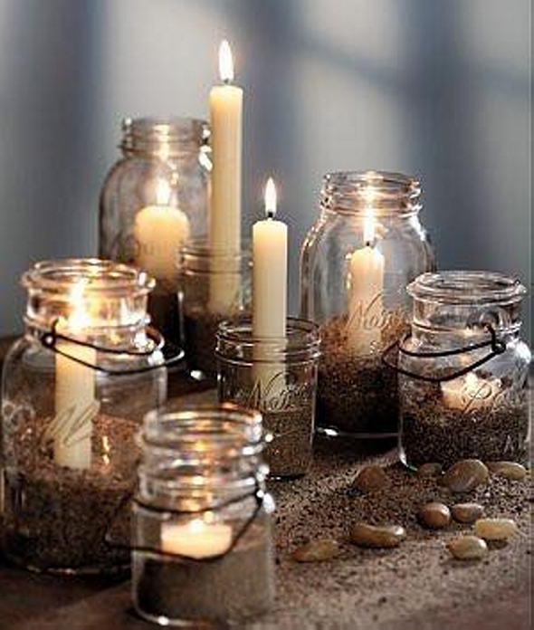Glass Jars Decor Crafts