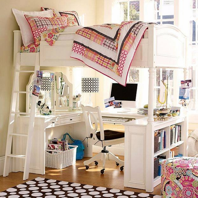 Kids Room Study Table: Bunk Bed Designs For Kids Room