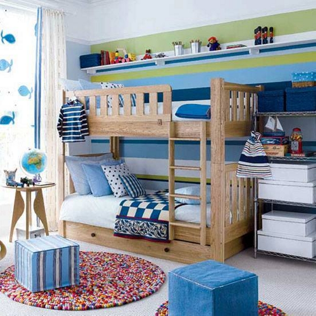 Kids Room Bunk Bed Plans