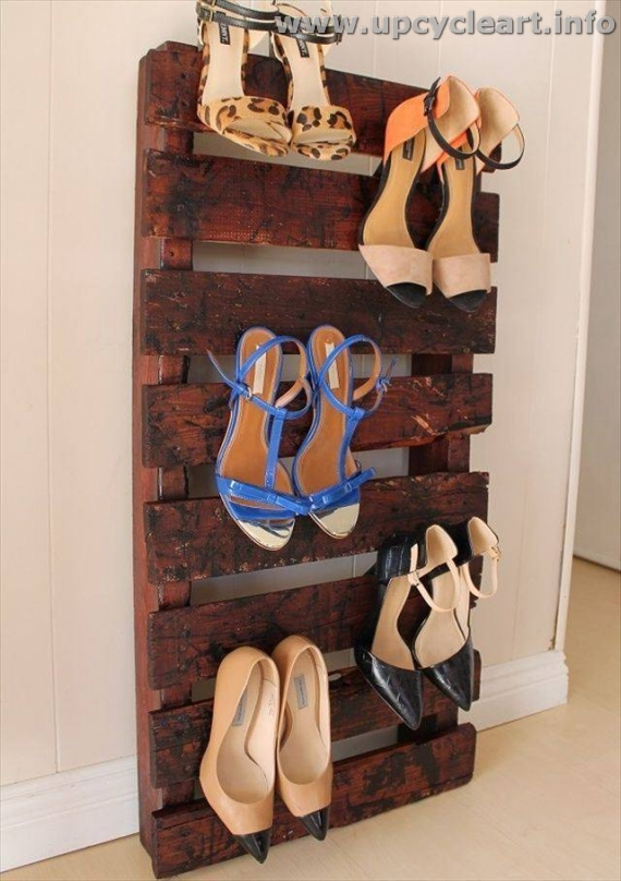 Pallet Shoe Rack Project