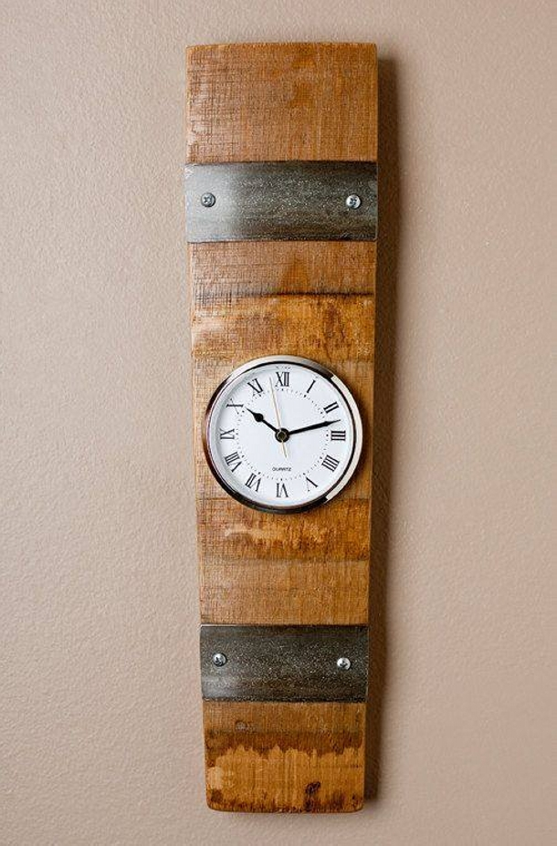 Pallet Wood Clock Decor Crafts