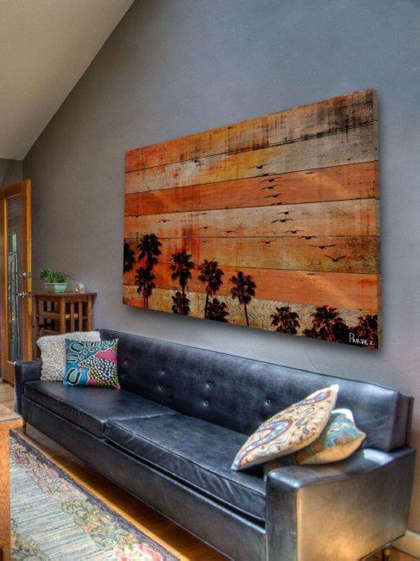 Wall Decor Out Of Wood : Recycled pallet wood decor crafts upcycle art