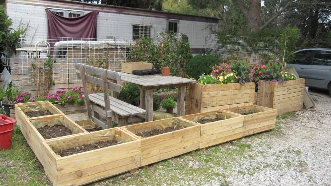 Pallets Garden Planter