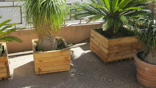 Pallets Wood Planter Ideas