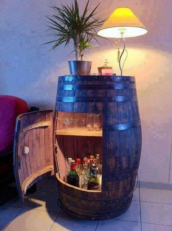 Recycling Project with Wood Drum