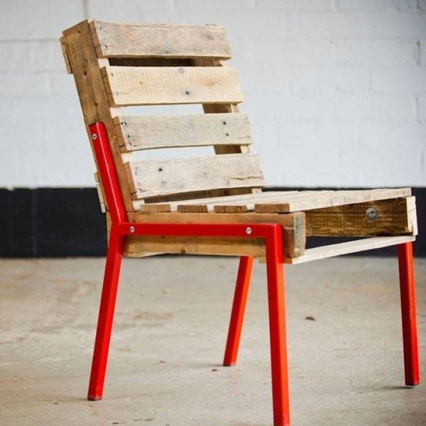 Recycling Project with Wooden Pallets