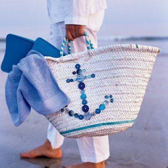 Straw Tote Bag 12