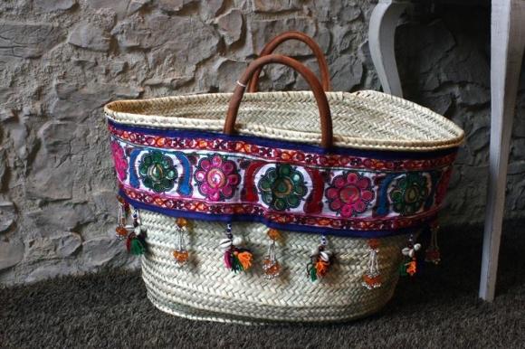 Straw Tote Bag 13