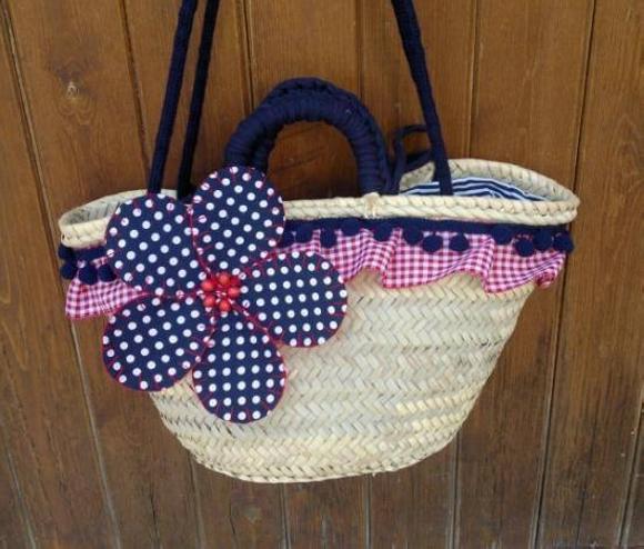 Straw Tote Bag 5