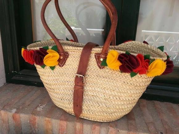 Straw Tote Bag 6