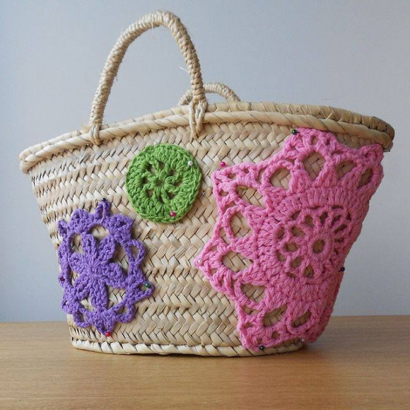 Straw Tote Bag 7