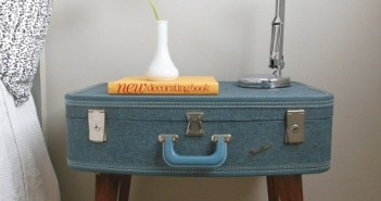 Suitcase Side Tables