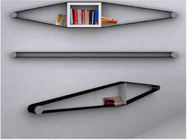 Upcycled Belt Shelf Ideas