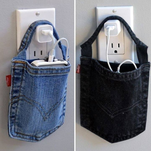 Used Jeans Mobile Holder