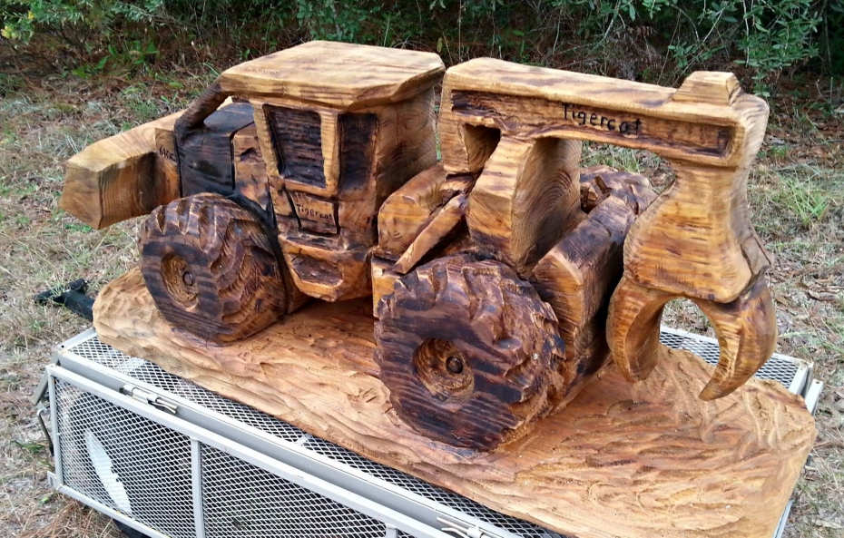 Wood Bulldozer