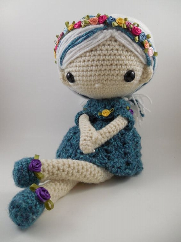 Small Amigurumi Doll Pattern : Amigurumi Crochet Patterns / Designs Upcycle Art