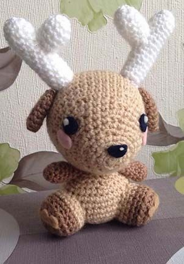 Amigurumi Deer : Amigurumi Crochet Patterns / Designs Upcycle Art