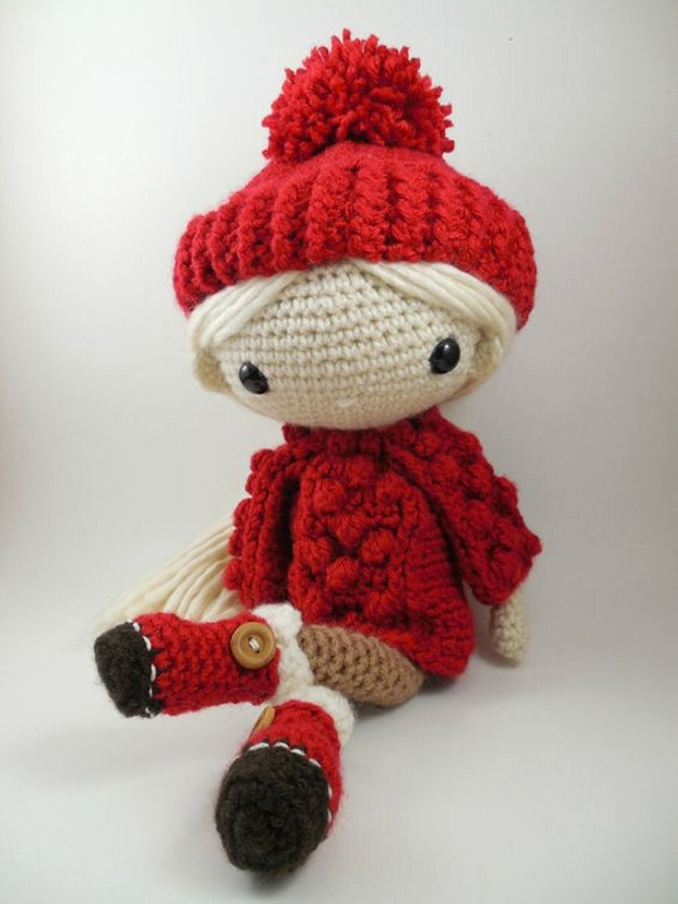 Amigurumi Doll Crochet Pattern