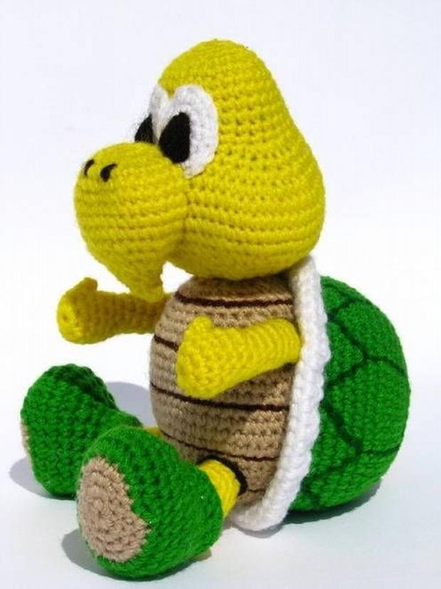 Amigurumi Koopa Troopa Crochet Pattern