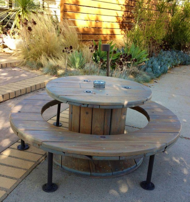 Cable Reel Outdoor Furniture