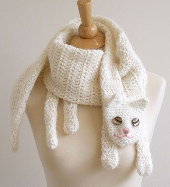 Cat Cuddler Scarf Pattern