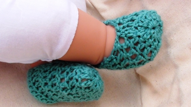Cool Crochet Baby Shoes
