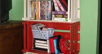 Crates Shelves Ideas