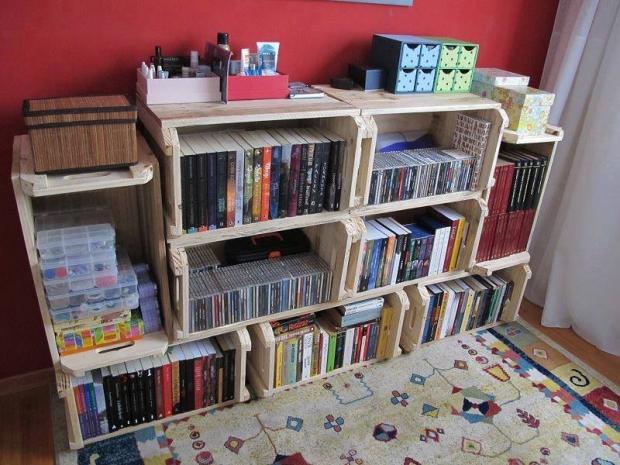 Crates Shelves