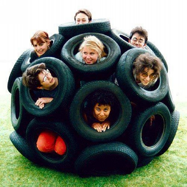 Creative Ideas for Reuse Used Tyres