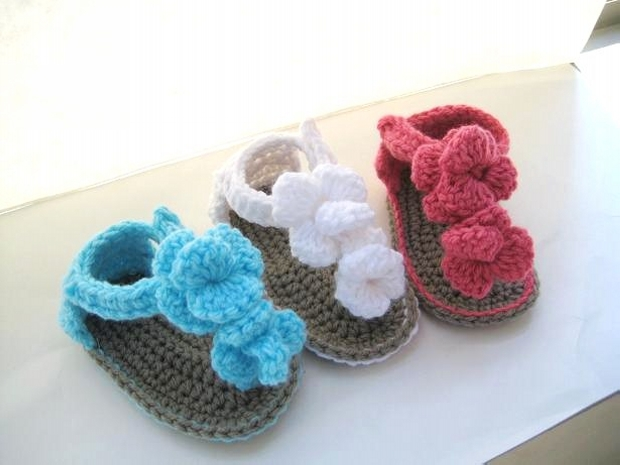 Crochet Shoes Designs