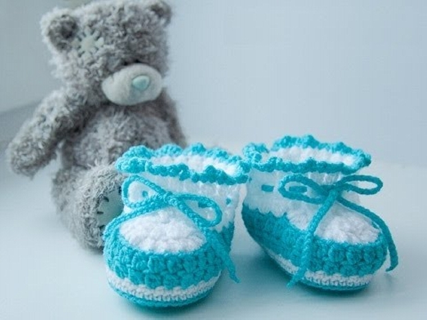 Cute Crochet Shoes