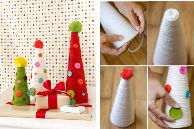 Decor Crafts with Buttons