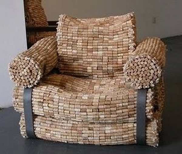 Decorative Wine Stopper Couch Chair