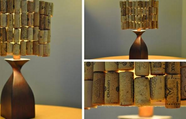 Decorative Wine Stopper Lamp