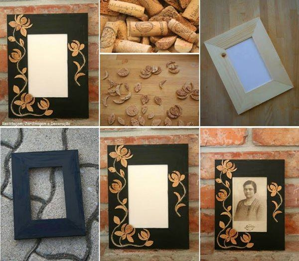 Decorative Wine Stopper Photo Frame